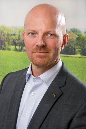 Alarik Sandrup, näringspolitisk chef på Lantmännen.