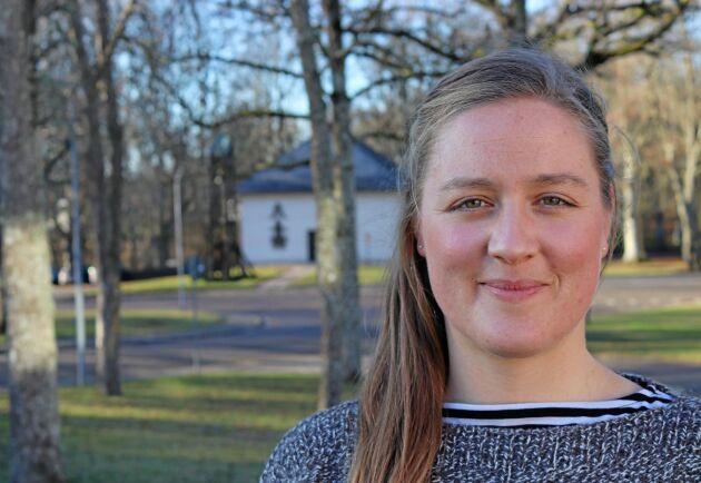 Mark/ växtagronom Hanna Williams delar sin tid mellan plantskolan Splendor Plant och sin egen verksamhet som föreläsare på temat jordhälsa.