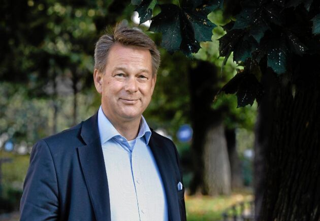 Jan Wintzell ser fördelar både för miljön, industrin och skogsägarna med Suncarbons nya process för produktion av ligninolja.
