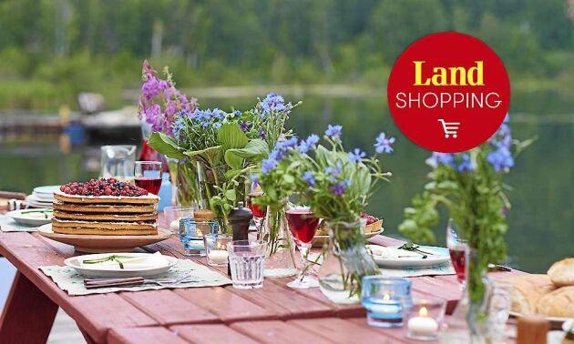 Här är shoppingtips för bästa sommarfesten.
