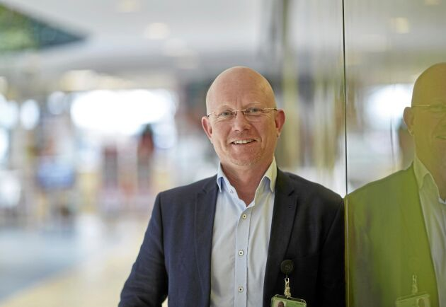 Erik Bratthall, presschef på Arla Foods i Sverige.