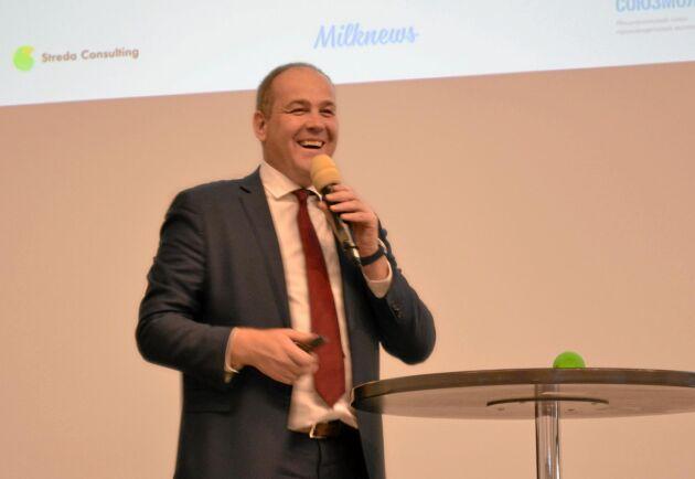 Artyom Belov, VD för Ryska mjölkproducenternas förbund, Souzmoloko.