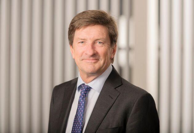Lars Idermark, ny ordförande för Skogsindustrierna.