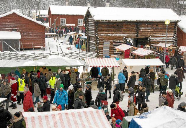 Gammlia Västerbottens julmarknad.