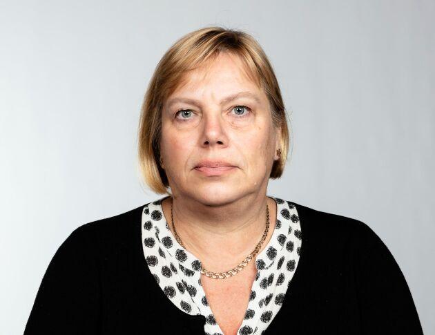 Lena Johansson, ledarskribent.