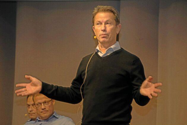 Hans Agné, VD för Svenska köttföretagen