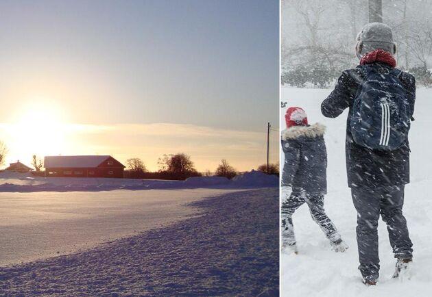 Det är en ovanligt kall mars månad i Sverige.
