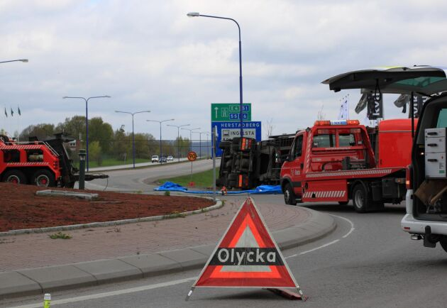 Vid dödsolyckor där tunga fordon är inblandade är sällan förarna påverkade. Arkivbild.