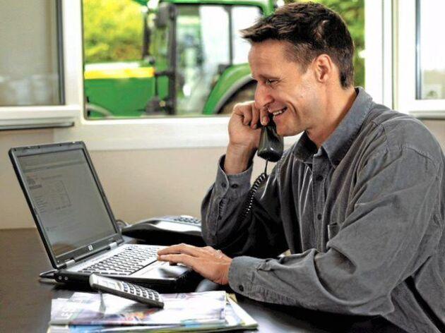Med Internet of things blir gården ett nav där data samlas in. Den kan sedan skickas vidare till rådgivare eller leverantörer som kan erbjuda tjänster.