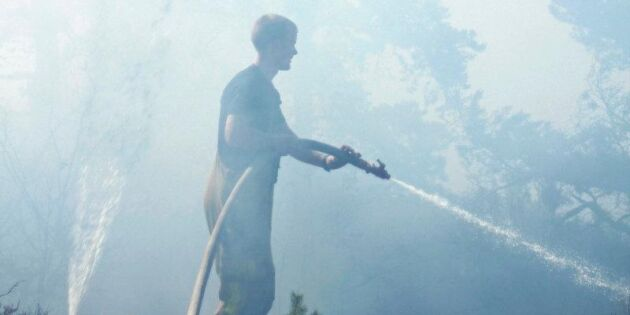 Skogsbrand i Skaraborg under kontroll