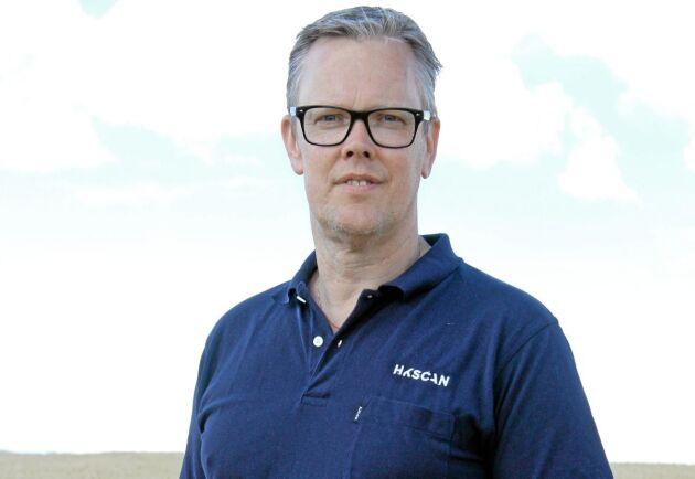 Torbjörn Lithell, försäljningsdirektör på HK Scan.