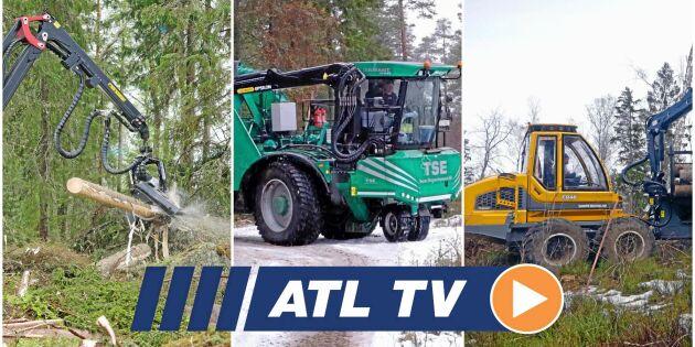 ATL TV: Mera flis med ny maskin