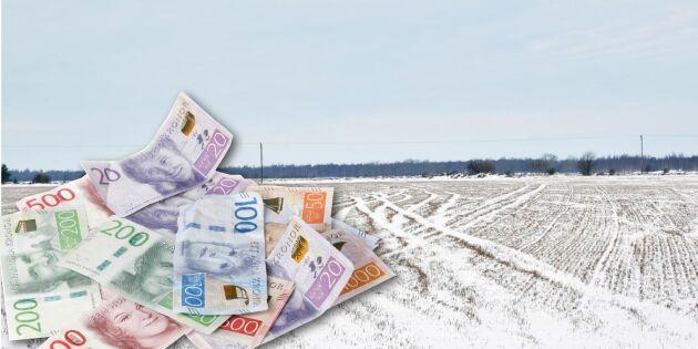 Försenat EU-stöd ger skattesmäll