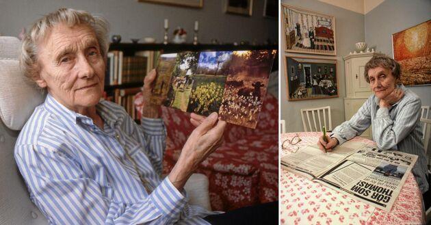 Astrid Lindgren värnade om våra öppna landskap. Tillsammans med Lands läsare skickade hon protester till riksdagen i form av vackra vykort med landskapsmotiv. 50.000 vykort överlämnades 1993.