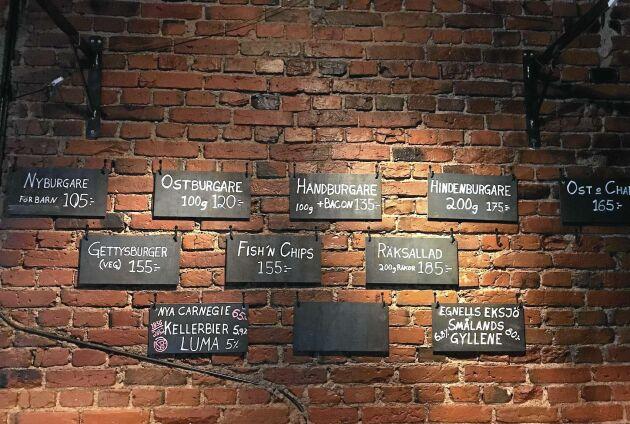 Nässjö ölcafé, ett av de bästa för lokal öl!