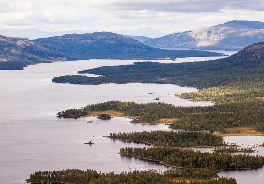 Karatj-Råvvåive, Norrbotten. Foto: Frédéric Forsmark.
