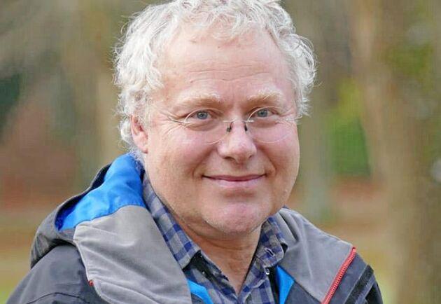 Jan Larsson har arbetat vid SLU i Alnarp sedan 1983, och tycker fortfarande att jobbet är roligt varje dag.