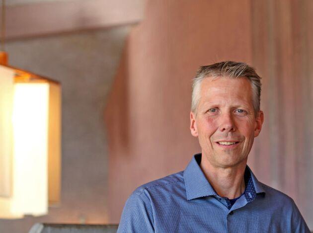 Anders Lunneryd, ordförande för Ekologiska Lantbrukarna.
