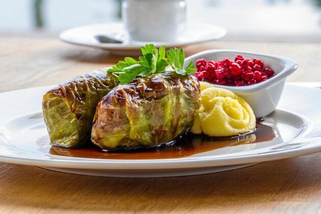 Kåldolmar är en profilprodukt för livsmedelstillverkaren Dafgårds.