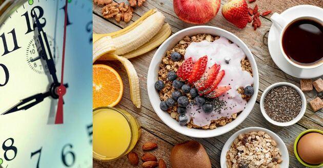 Ät frukost vid rätt dig, tipsar viktexperten.