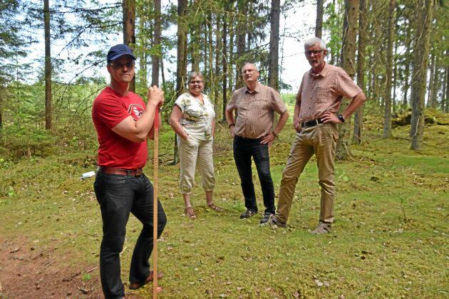 Karl-Johan Gunnarsson, Anders Åkesson, Mats Blomberg och Helene Lantz.
