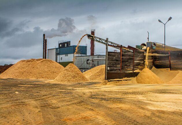 Norrskogs sågverk i Krokom. Arkivbild.