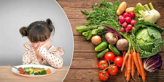 10 enkla tips: Så lyckas du få i dig 500 gram grönsaker per dag