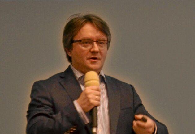 Michael Mischenko, direktör vid det ryska mjölkforskningscentrat, RDRC.