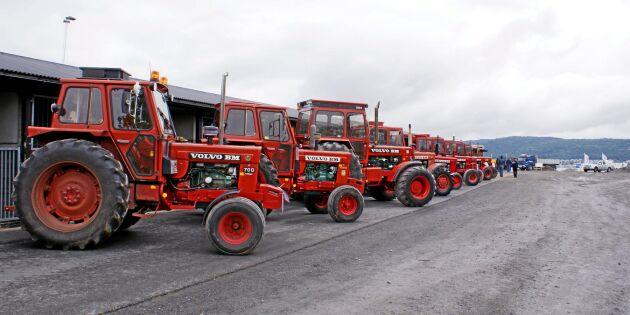 Bildspecial: BM-traktorerna som visas på Borgeby