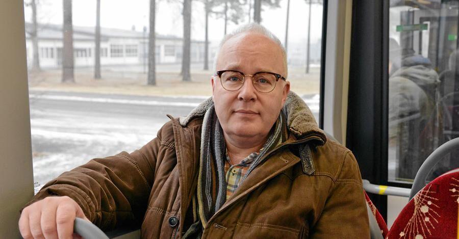 Erik Andersson, trafikutvecklare på Länstrafiken i Jönköpings län har varit med och arbetat fram det nya konceptet för busstrafiken i Nässjö.