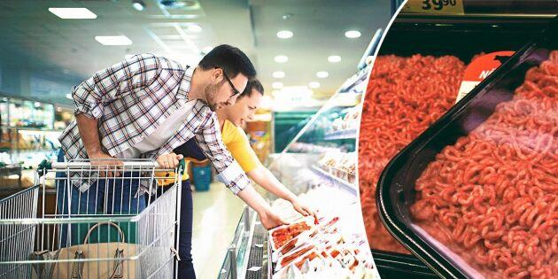 Efter torkan: Ica dubblar mängden svenskt kött inför kampanj