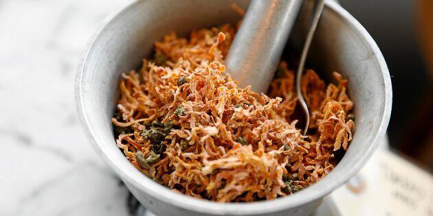 Torkad morot med kapris –godaste kryddan!