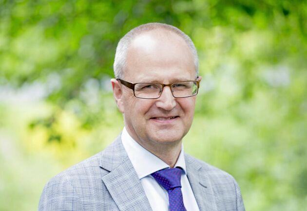 Palle Borgström, förbundsordförande för LRF, hoppas att regeringen snabbar på med beslut om krisstöd.