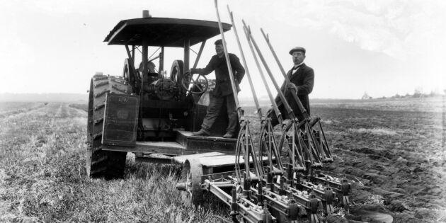 Traktorns intåg i det svenska lantbruket