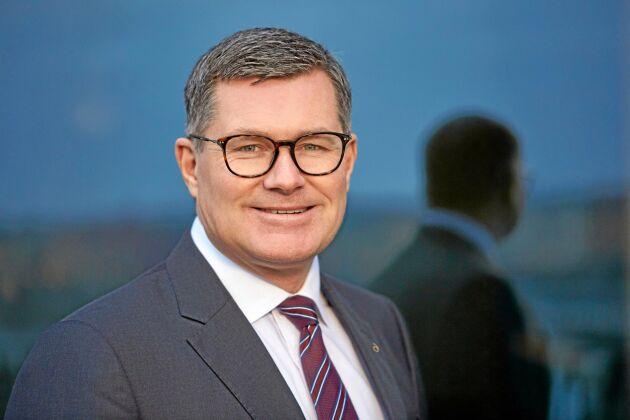 Magnus Kagevik, chef för division Energi vid Lantmännen.