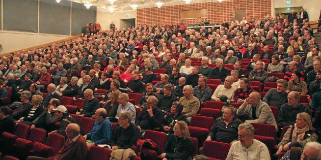 500 skogsägare pratade säkerhet efter Alfrida