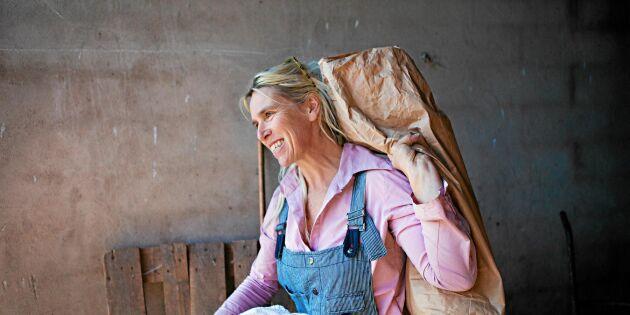 Lantbrukaren Susanne Eriksdotter: Ölandsvetet är rena hälsogrödan