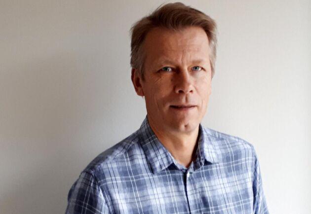 Lennart Svensson, nationell skogsskadesamordnare på Skogsstyrelsen.