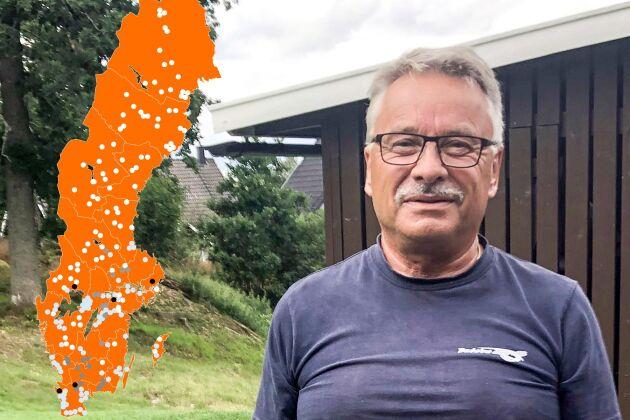Nils-Åke Aronsson arbetade i nästan tio år med att tömma Sveriges beredskapslager när de ansågs onödiga. Nu kan de komma att byggas upp igen.