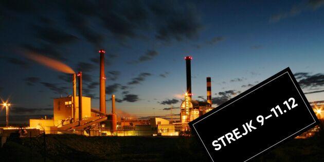 Finsk strejk drabbar svensk skogsindustri