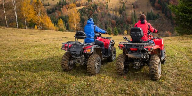 Skatteverket: Så bedömer vi fyrhjulingar
