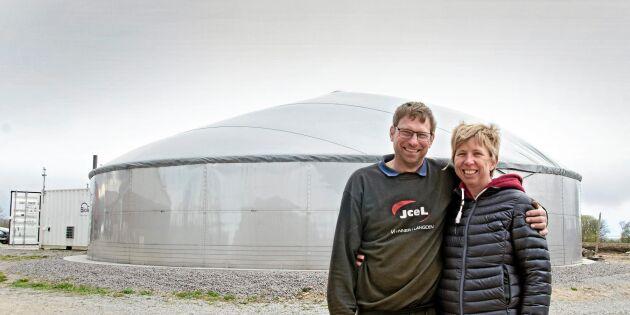 Småskalig biogas gav mersmak