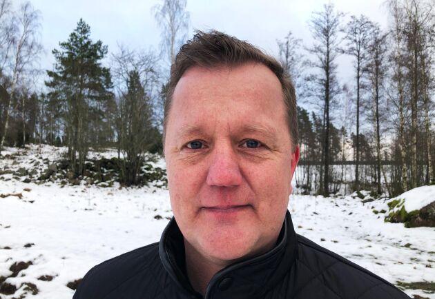 MKP Sveriges vd Mattias Ringström räknar med att växa med tvåsiffriga tal ett antal år framåt.
