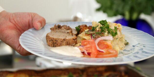 Ursprung för kött på finska restauranger dröjer