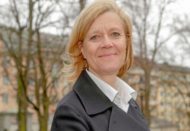 Lena-Liisa Tengblad hoppas på fler utbildningsplatser på SLU:s djursjukvårdsprogram.