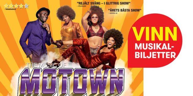 """AVSLUTAD: Vinn biljetter till """"The music of Motown"""""""