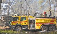 Fördel i kampen mot bränderna