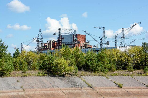 Staden Pripyat övergavs för 33 år sedan.