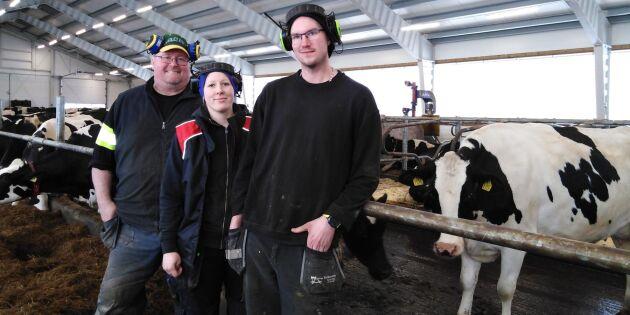 Tror på mjölken – har ökat från 22 till 120 kor