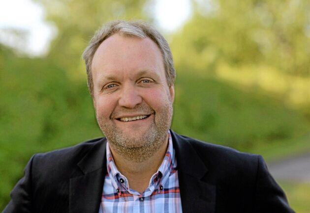 Mikael Jeppsson, chef för spannmålsenheten på Lantmännen Lantbruk.
